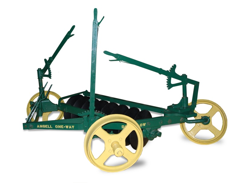 Plow designed and manufactured by a Kansan.