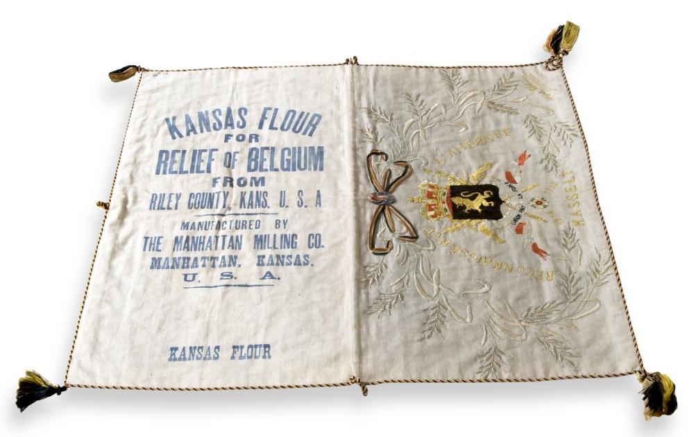 embroidered flour sacks kansapedia kansas historical society