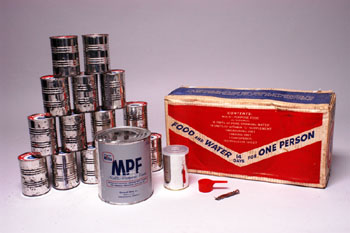Civil defense food kit