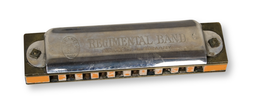Harmonica played by Dean Thomas of Dighton