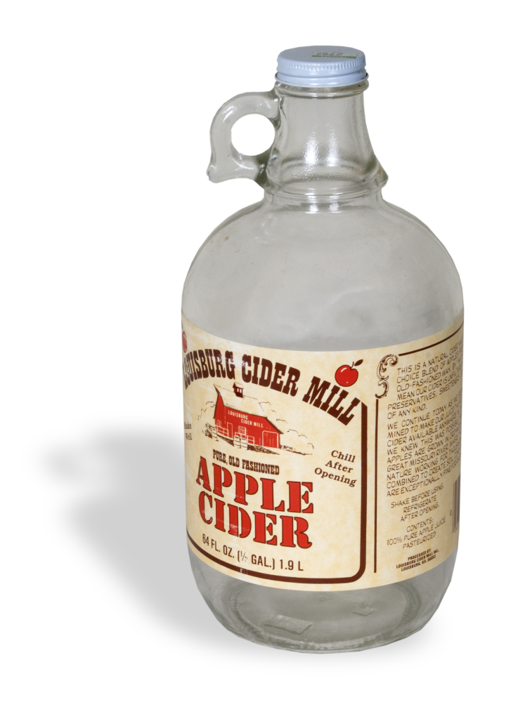 Louisburg Cider Mill jug
