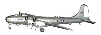 Boeing  Superfortress model airplane