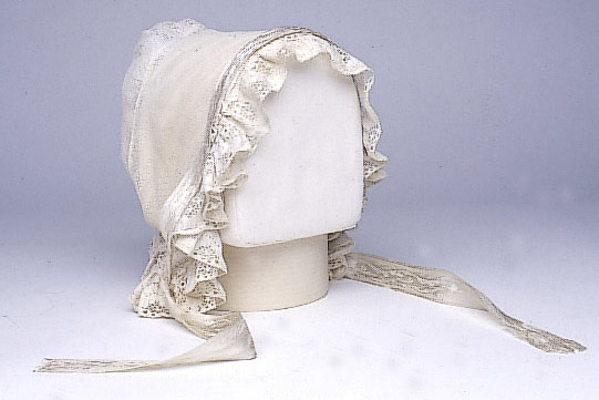 Missionary Fanny Simmerwell's day cap.