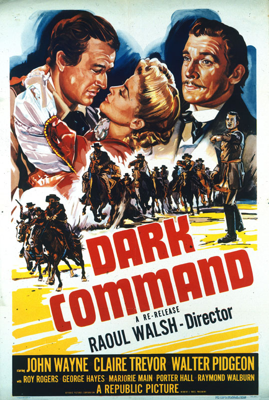 Movie poster for Dark Command (1940)