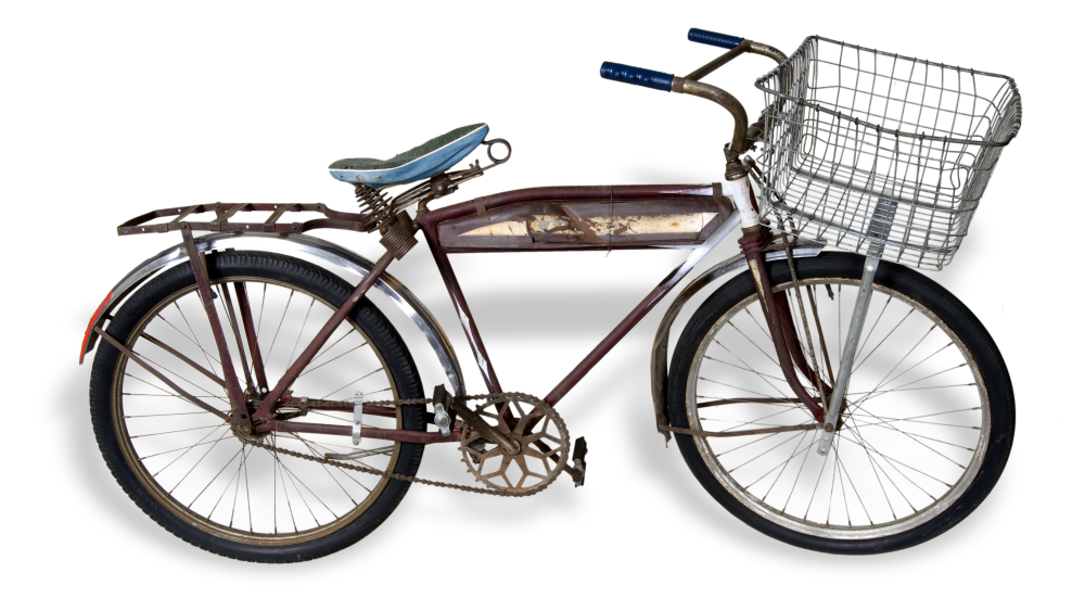 Montgomery Ward bicycle purchased in 1934