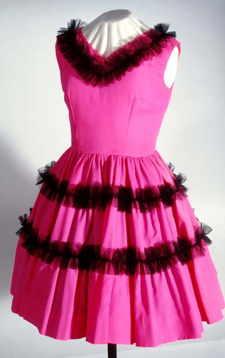 Areta Meyer's square dance dress