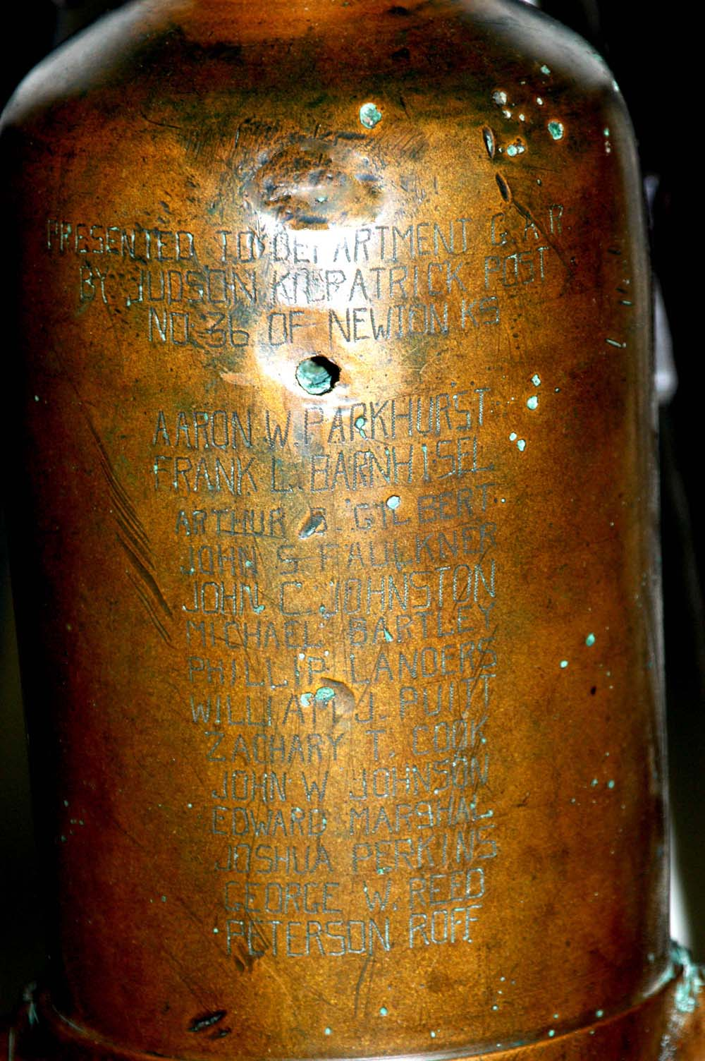 Close-up of 