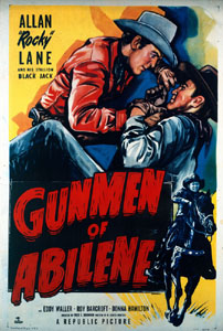 The bad guy in Gunmen of Abilene (1950) is the town druggist
