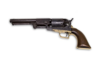 John Brown follower Albert Hazlett used this revolver at the Harpers Ferry rebellion