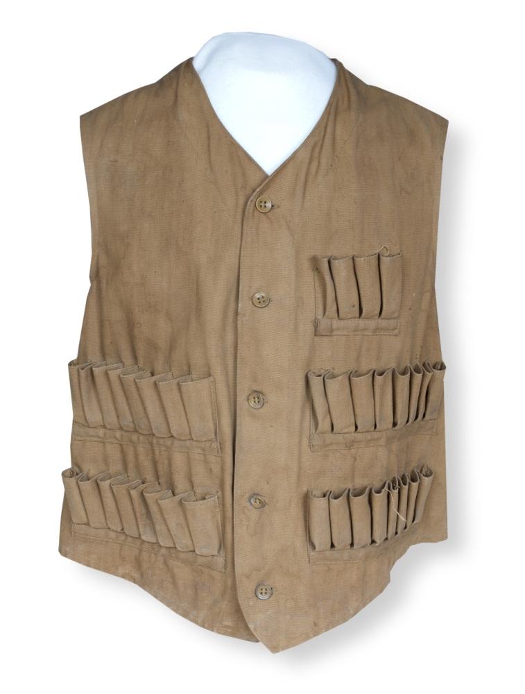 John Vogel's hunting vest