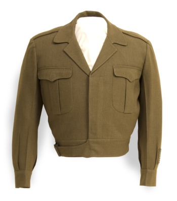 Jacket designed and worn by Kansan Dwight D. Eisenhower