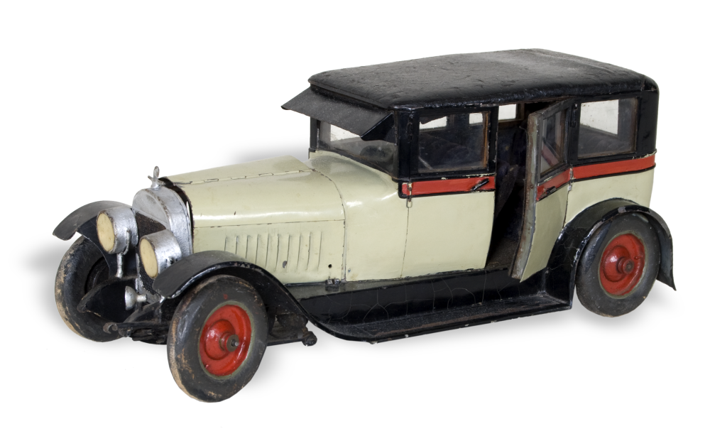 Model of Buick sedan, made by Harold Kooken