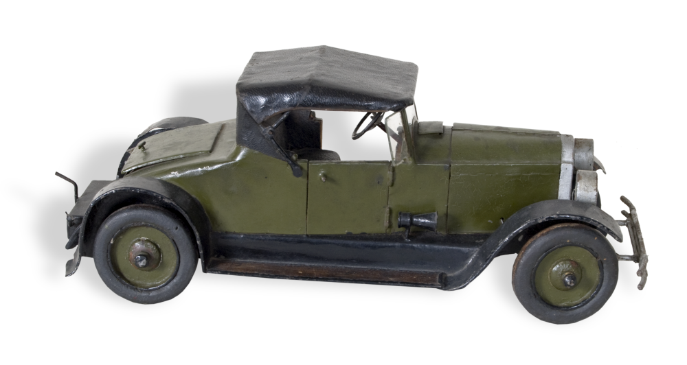 Model of Chevrolet roadster, made by Harold Kooken
