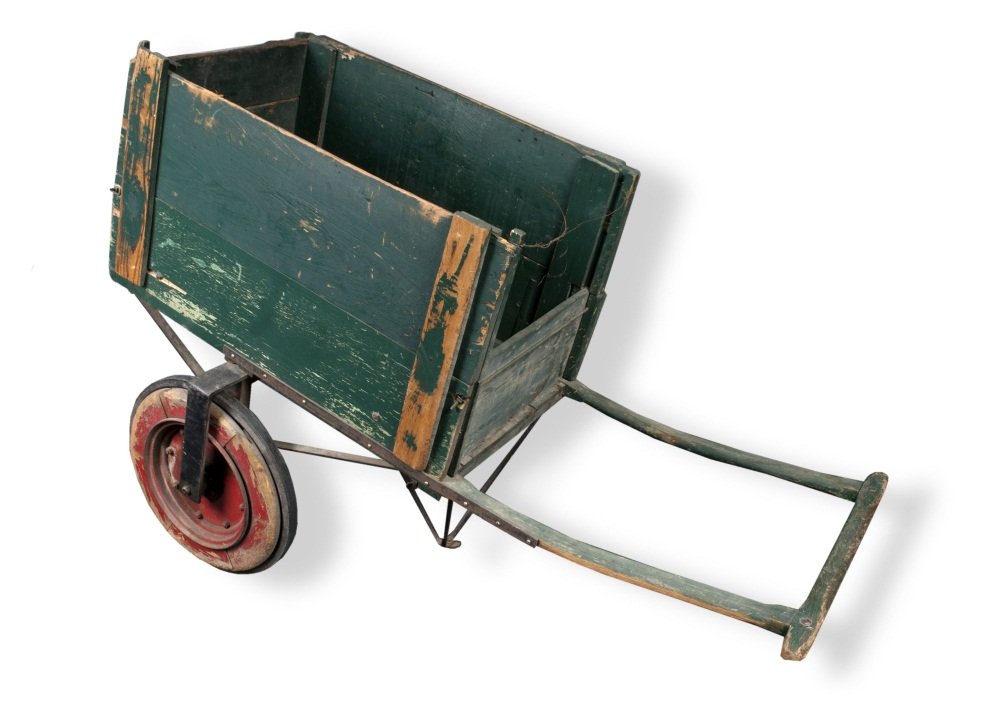Senate hand cart built by Lancing Company, Kansas City