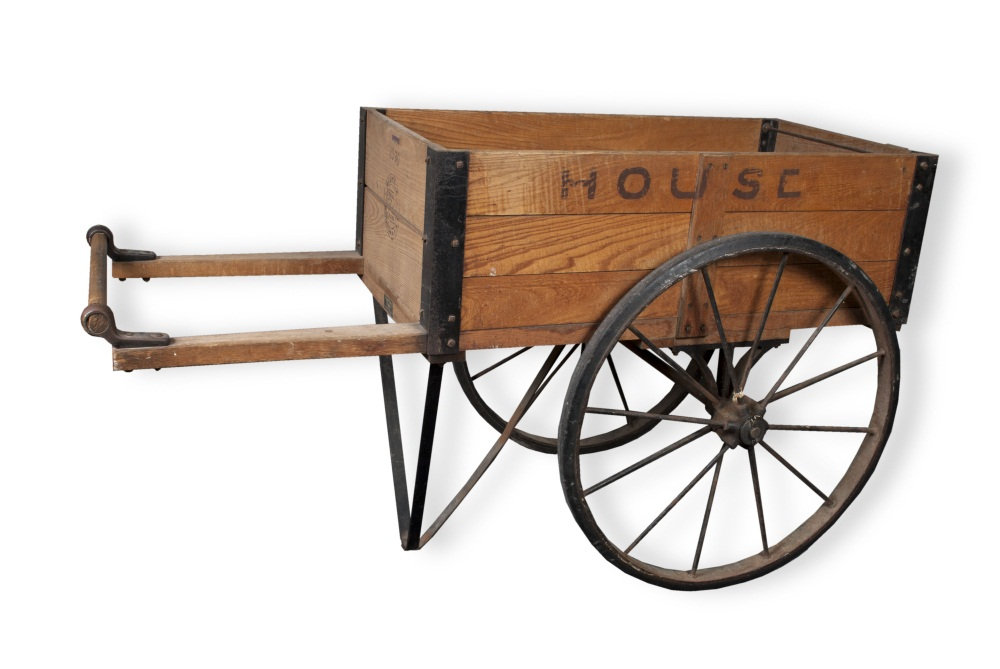 House of Representatives hand cart built by Hamilton Caster Company