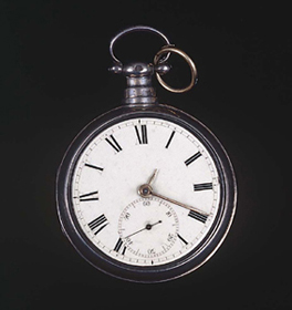 Isaac McCoy's pocket watch