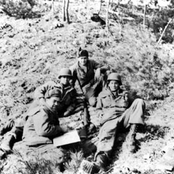 Morgan in Korea, at bottom left