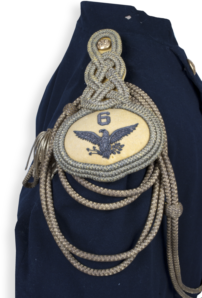 6th U.S. Cavalry shoulder boards