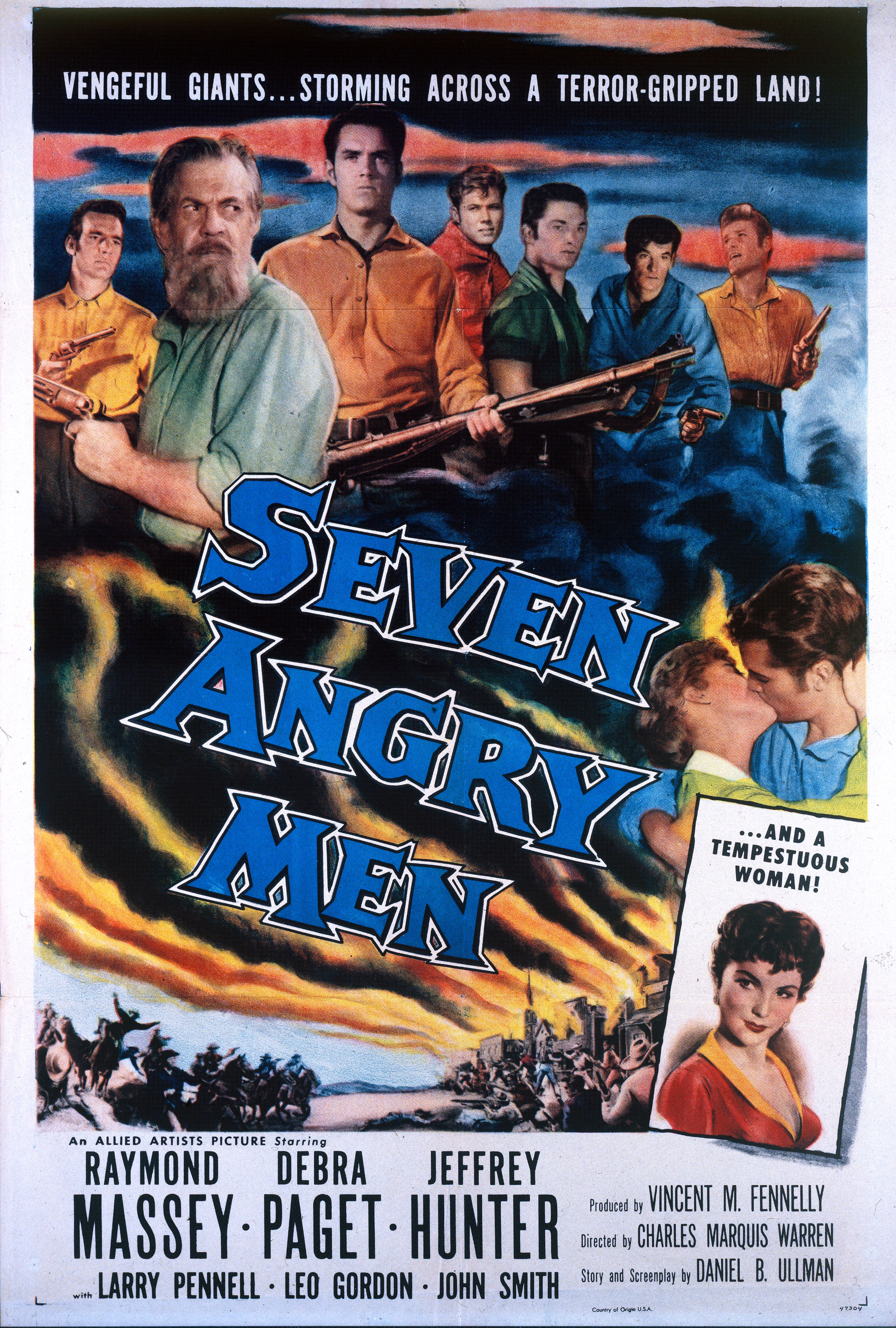 Seven Angry Men movie poster (1955)