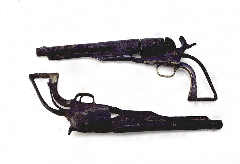 Colt Model 1860 Army revolvers
