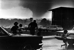 Topeka tornado. Photograph courtesy of Topeka Capital-Journal