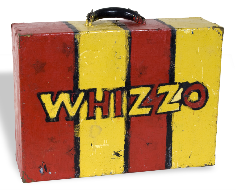 Suitcase used by Whizzo the Clown
