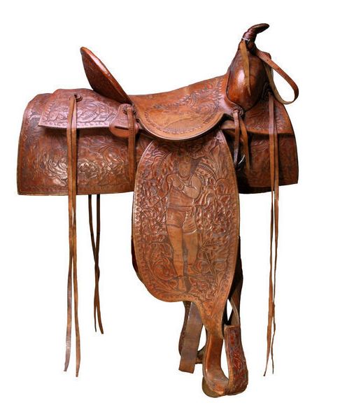 Jess Willard's saddle