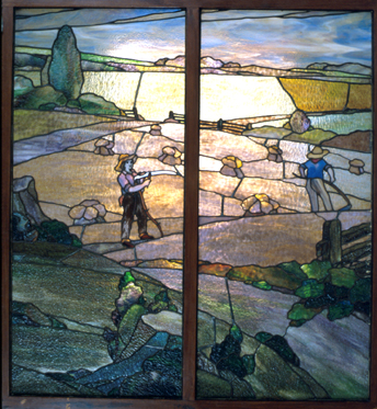 Stained glass window from Arthur Capper's home