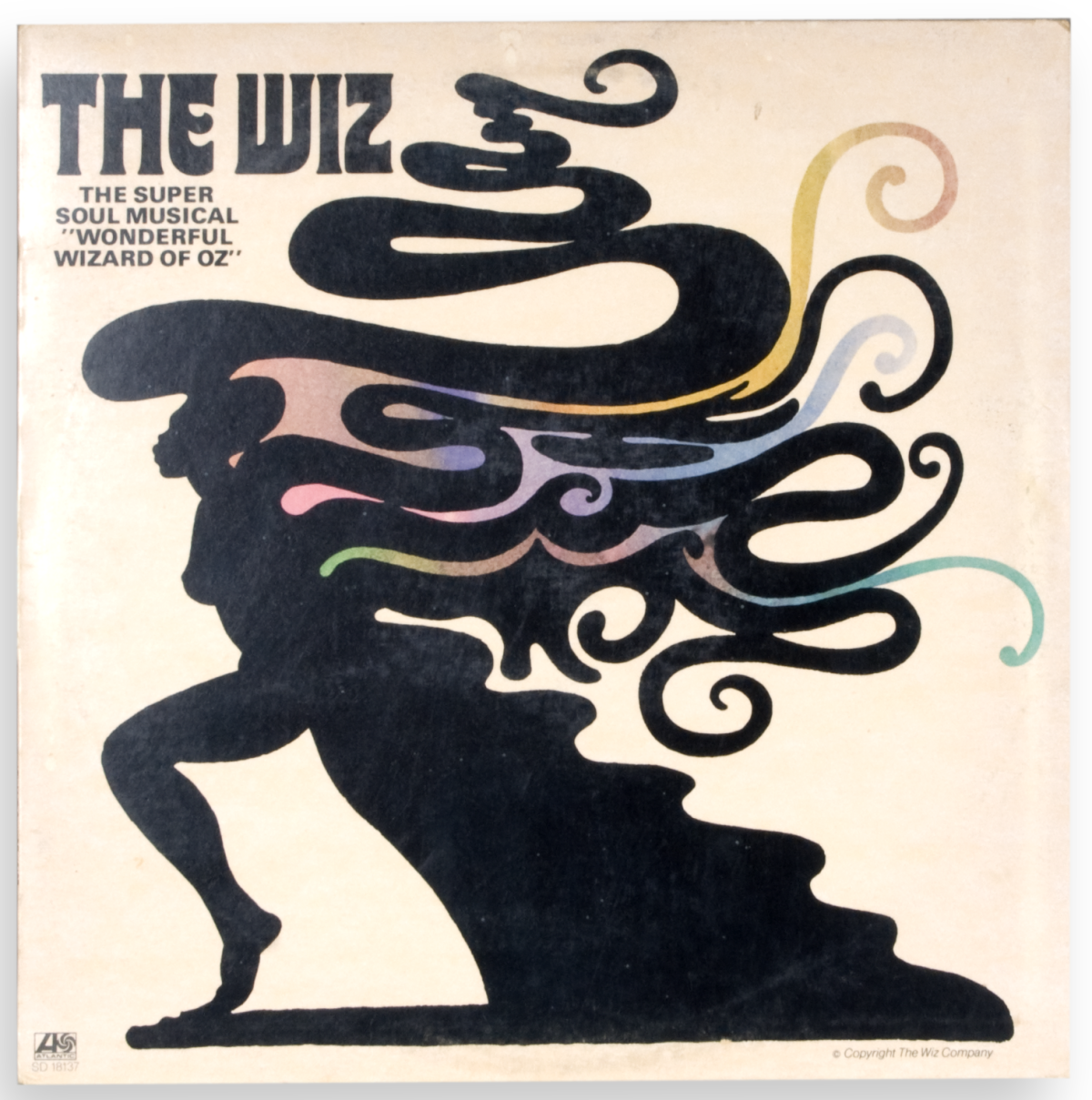 "Original cast recording for the Broadway production of ""The Wiz"""