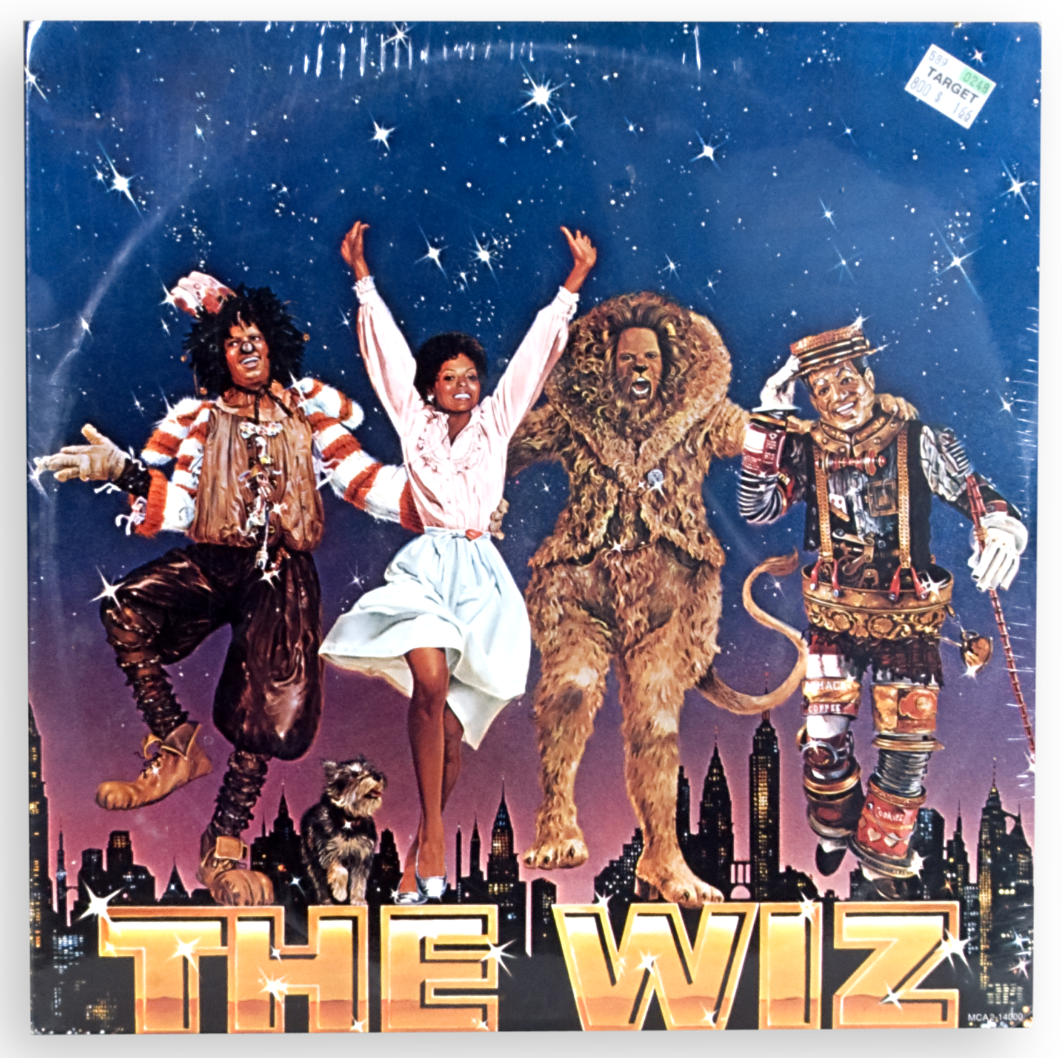 "Soundtrack for the motion picture version of ""The Wiz."""