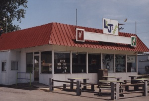 Exterior of Patty's diner