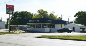 B & J Carry Out diner.