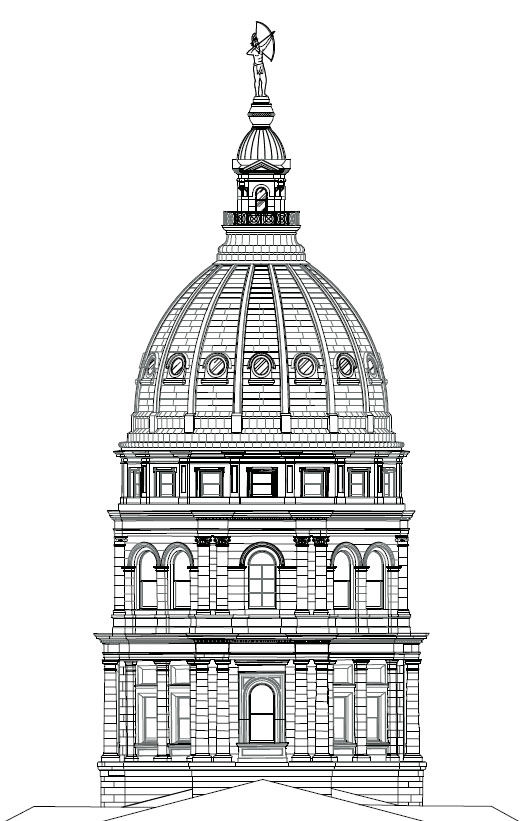 simple capitol building coloring pages - photo#22