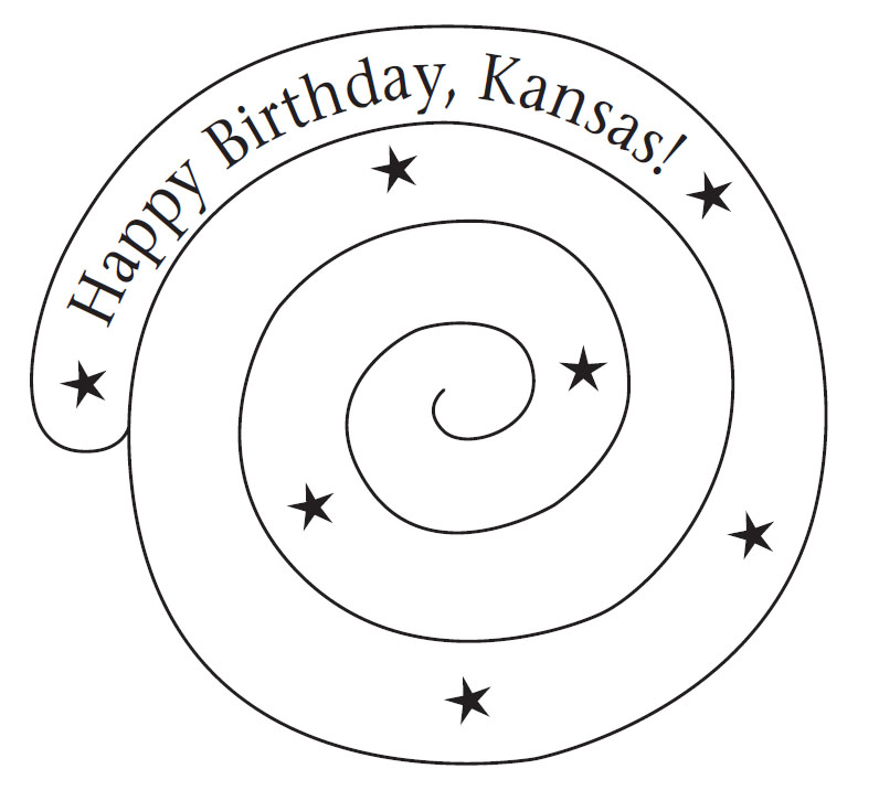 Coloring Pages For Kansas Day - Worksheet & Coloring Pages