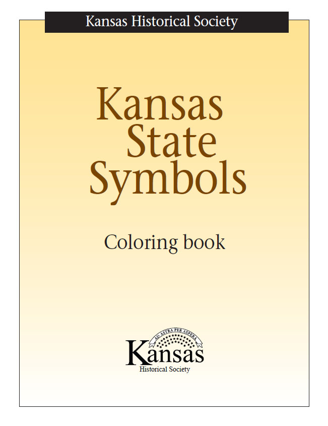 Kansas day classroom activities kansas historical society for Kansas state symbols coloring pages
