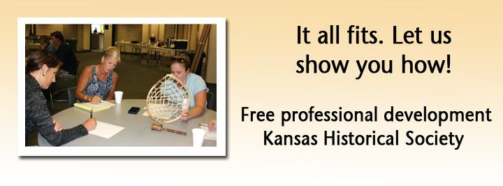 Professional development training, Kansas Historical Society