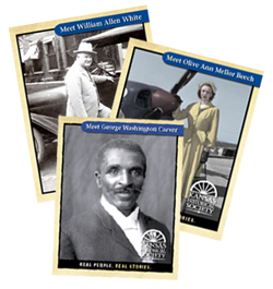 Real People. Real Stories. Trading Cards
