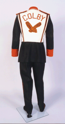 Colby High School band uniform, collections of Thomas County Historical Society.