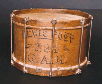 GAR snare drum from Dodge City.