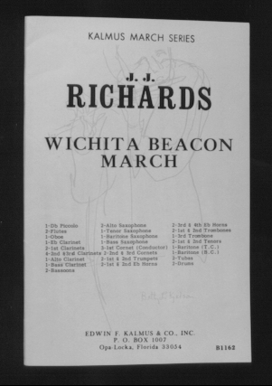 """Wichita Beacon"" march written by J. J. Richards."