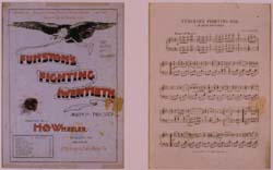 Sheet music for Funston's