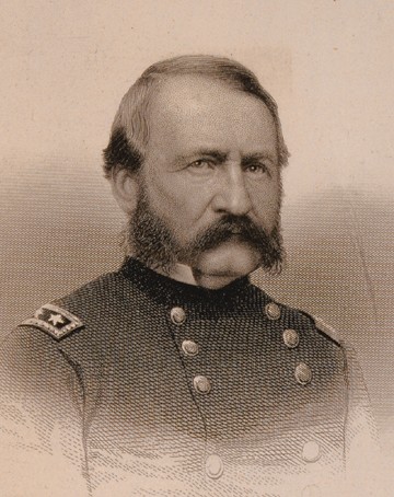 William H. Emory.  Image courtesy of West Point Library, 
