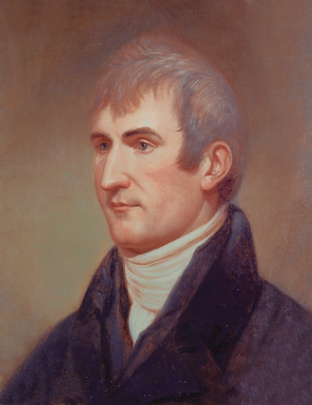 Meriwether Lewis.  Image courtesy of Independence National  Historical Park.