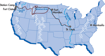 Beyond Lewis and Clark Timeline 18041806 Kansas Historical Society