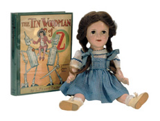 Objects in Jane's Wizard of Oz collection.