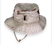 Cap worn in Baghdad during Operation Iraqi Freedom by a Kansas National Guard soldier.