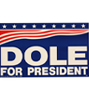 1996 Dole for President bumper sticker