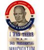 1953 Eisenhower inaugural ribbon