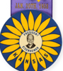 1953 Eisenhower inaugural button