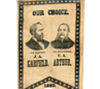 1880 Garfield and Arthur for President poster